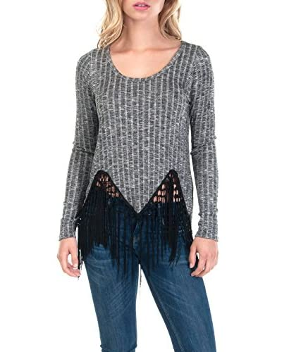 PPLA Clothing Women's Shadow Knit Top