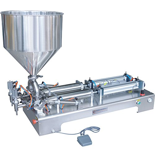 HTP® Dual Heads Oil liquid Cream Filling Machine 10-300ML