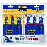 American Tool Companies Irwin 1835090 Speebor Max Spade Bit Set, 3-Piece - Buy One, Give One