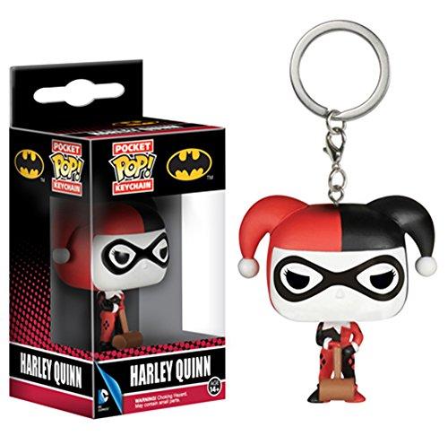 Funko Pop Keychains: DC - Harley Quinn