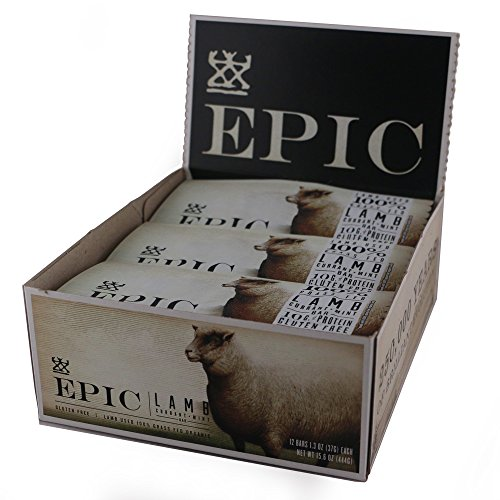 Epic Grass Fed Meat Bar Lamb Currant Mint - 12 Pack