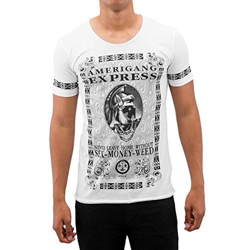 red-bridge-american-gang-express-camiseta-de-blanco-s
