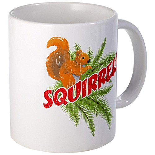 Cafepress Squirrel Vintage Mugs - S White