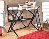 Twin Over Desk Loft Bed