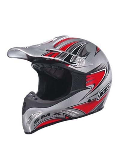 Nzi Casco Integral Motocross Smx Multi Pr