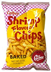 Calbee Shrimp Flavored Chips Baked (4Oz)