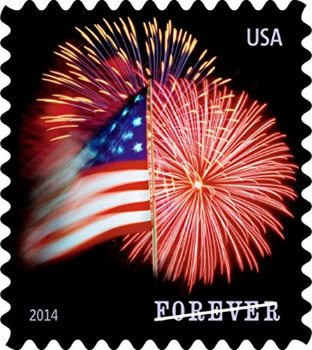 usps-forever-star-spangled-banner-flag-and-fireworks-self-adhesive-roll-of-100-stamps-100-in-total-g