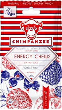 Chimpanzee Gominolas Energy Chews 6 Sobres (12 Unidades) Frutos del Bosque