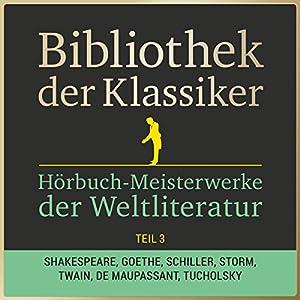Hörbuch-Meisterwerke der Weltliteratur, Teil 3 (Bibliothek der Klassiker) Hörbuch
