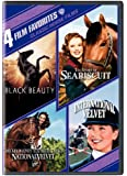 Classic Horse Films: 4 Film Favorites (Black Beauty / The Story of Seabiscuit / National Velvet / International Velvet)