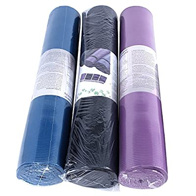 Songmics Yogamatte Verlängern Verbreitern 190 x 100 cm Extra-dick 1,5 cm 3 Farben Pilatesmatte Rutschfest Schaumstoff