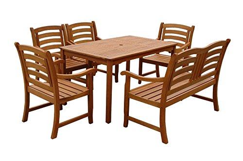 indoba ind 70291 mose6 serie montana gartenm bel set 6 teilig aus holz fsc zertifiziert 4. Black Bedroom Furniture Sets. Home Design Ideas