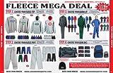 Anaconda Sports® Fleece Mega Deal Basketball Team Package (Call 1-800-398-7625 to order)