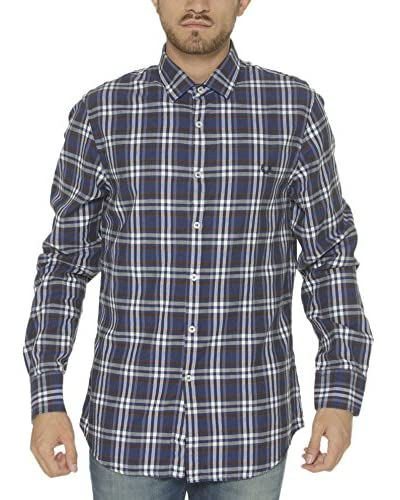Fred Perry Camisa Hombre Azul