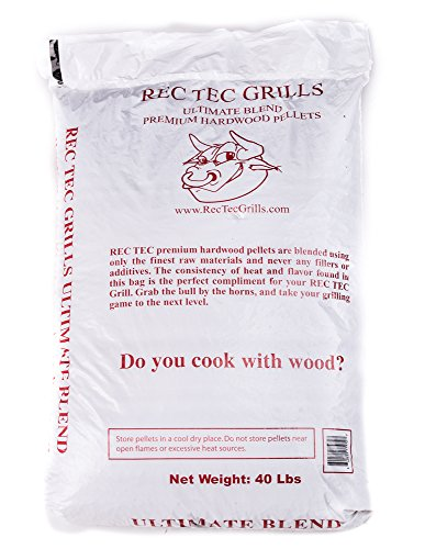 RecTec Grills Ultimate Blend Pellets, 40 lb (Pellet Wood Smoker compare prices)