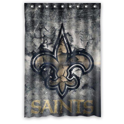 Saints Bathroom Set: Saints Shower Curtain, New Orleans Saints Shower Curtain