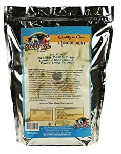 Great Life Dog Food Limited Ingredients Dog Food, 30-Pound, Duck