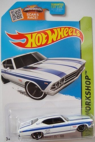 Hot Wheels, 2015 HW Workshop, '69 Chevelle SS 396 [White] Die-Cast Vehicle #231/250