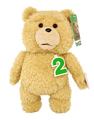 """Ted 2 Movie-Size Plush Talking Teddy Bear Explicit Doll, 24"""""""