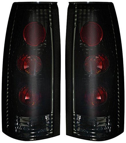88-98 Chevy CK Altezza Tail Lights Black Housing / Smoke Lens Pair (Tail Lights 97 Chevy K1500 Truck compare prices)