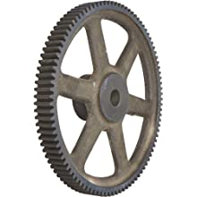 Martin Spur Gear, 14.5° Pressure Angle, Cast Iron, Inch, 4 Pitch