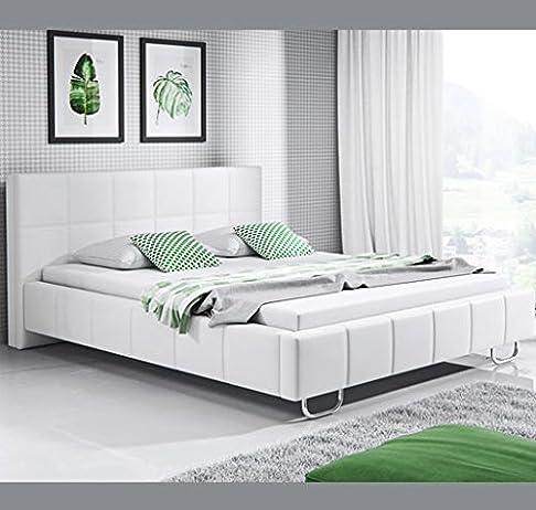 Letti e Mobili - Letto di disegno Sofia in colore bianco – 180 x200cm