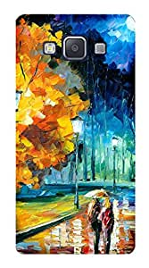 TrilMil Printed Designer Mobile Case Back Cover For Samsung Galaxy A5