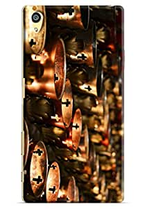 Omnam Cups Made Of Brass Having Church Sign Printed Designer Back Cover Case For Sony Xperia Z5 Premium