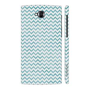 Enthopia Designer Hardshell Case CHEVRON BLUE N WHITE Back Cover for LG Pro Lite