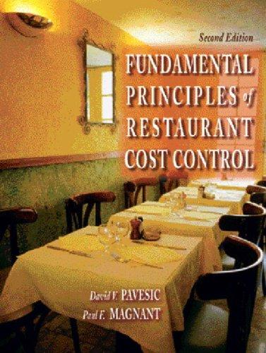 Fundamental Principles of Restaurant Cost Control (2nd...