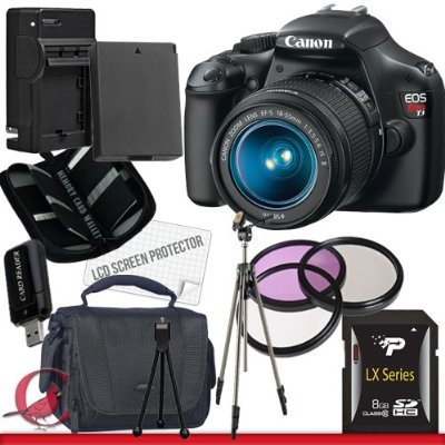 Canon EOS Rebel T3 Digital Camera and 18-55mm IS II Lens Package 4 best price