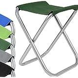 Miadomodo Camping Chair (Folding) Fishing Stool Outdoor Festivals Garden Furniture (Army-Green)