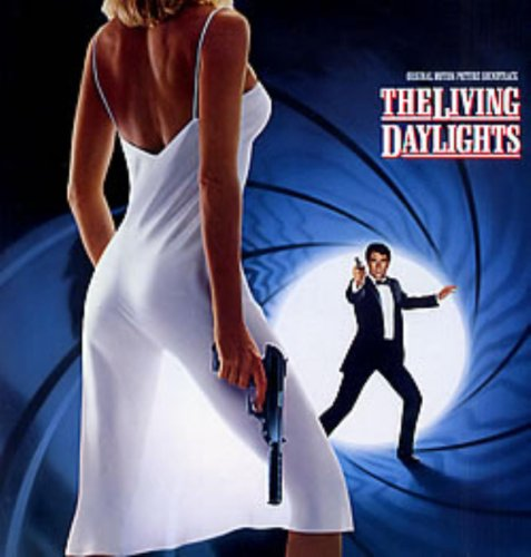Original album cover of The Living Daylights by James Bond - OST