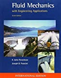 img - for Fluid Mechanics with Engineering Applications by E. John Finnemore (2001-11-01) book / textbook / text book