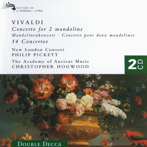 Vivaldi - Concertos New London Consort, Pickett ~ AAM, Hogwood by Antonio Vivaldi,&#32;Christopher Hogwood,&#32;Philip Pickett,&#32;The Academy of Ancient Music and New London Consort