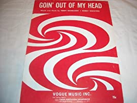 GOIN OUT OF MY HEAD TEDDY RANDAZZO 1964 SHEET MUSIC SHEET MUSIC 243