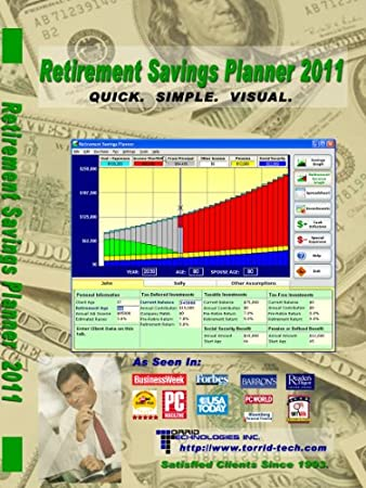 Retirement Planning Software - Personal Edition (for Windows PC)