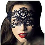 Rbenxia Sexy Girl Lace Eye Mask for Halloween Masquerade Party