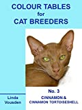 img - for Colour Tables For Cat Breeders - 3 Cinnamon & Cinnamon Tortoiseshell book / textbook / text book