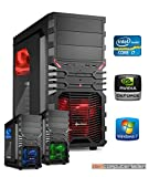 dercomputerladen Gamer PC System Intel, i7-4790K 4x4,0 GHz, 16GB RAM, 2000GB HDD, nVidia GTX970 -4GB, inkl. Windows 7 (inkl. Installation)