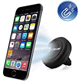 Car Mount, iClever® Air Vent Universal Smartphone Magnetic Car Mount Holder Cradle for iPhone 6 (Plus) 5S 5C 5, Samsung Galaxy S6 (Edge) S5 S4 S3, Nexus 5 4, HTC One M9 M8 & MP3 MP4 PDA GPS (IC-CH05)