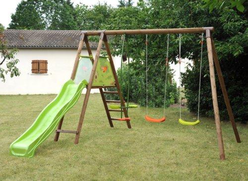 Comment choisir une portique avec toboggan meilleur loisir - Balancoire avec toboggan ...