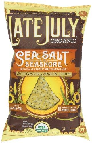 Late July Organic Snacks Sea Salt by the Seashore Multigrain Tortilla Chips, 6-Ounce (Pack of 6) (Multigrain Sea Salt compare prices)