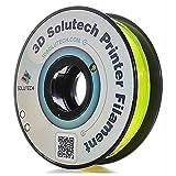 3D Solutech See Through Yellow 1.75mm PETG 3D Printer Filament 2.2 LBS (1.0KG) - 100% USA