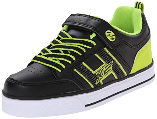 Heelys Bolt Skate Shoe (Little Kid/Big Kid), Black Lime, 13 M US Little Kid