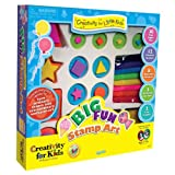 "Faber Castell Creativity For Kids ""Big Fun Stamp Art Kit"""