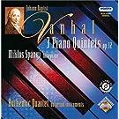 Vanhal: 3 Quintettes avec piano Op.12