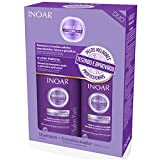 Inoar Professional - Absolut Speed Blond Shampoo & Conditioner - (2x) 250ml / 8.45oz