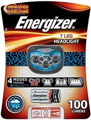 Energizer Trail Finder Pro 7 LED Headlamp, Blue/Black
