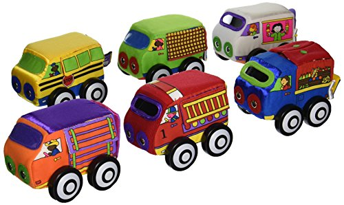 Small World Toys IQ Baby - Zoom Zoom Vehicles